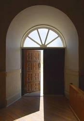 Advent door