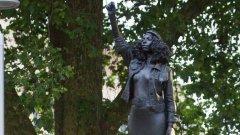 Jan Reid statue