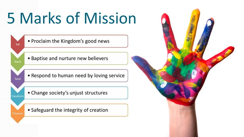 5 marks of mission